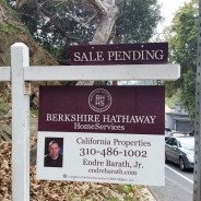 Endre Barath,Jr. has been Recognized  by David Cabot President and CEO of Berkshire Hathaway HomeService CA Properties!